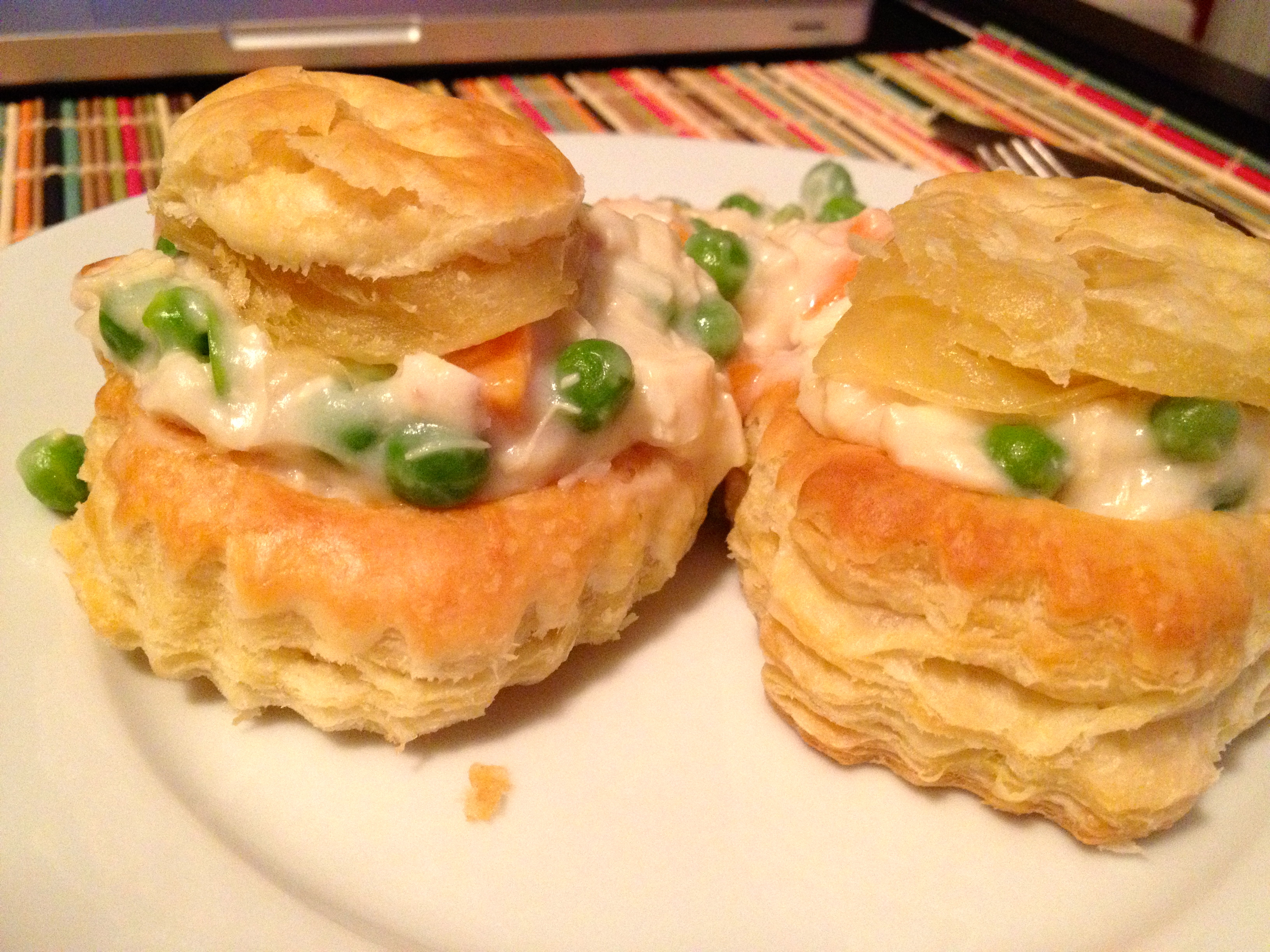 Vol au vent diary of a hungry qu b coise for Canape fillings