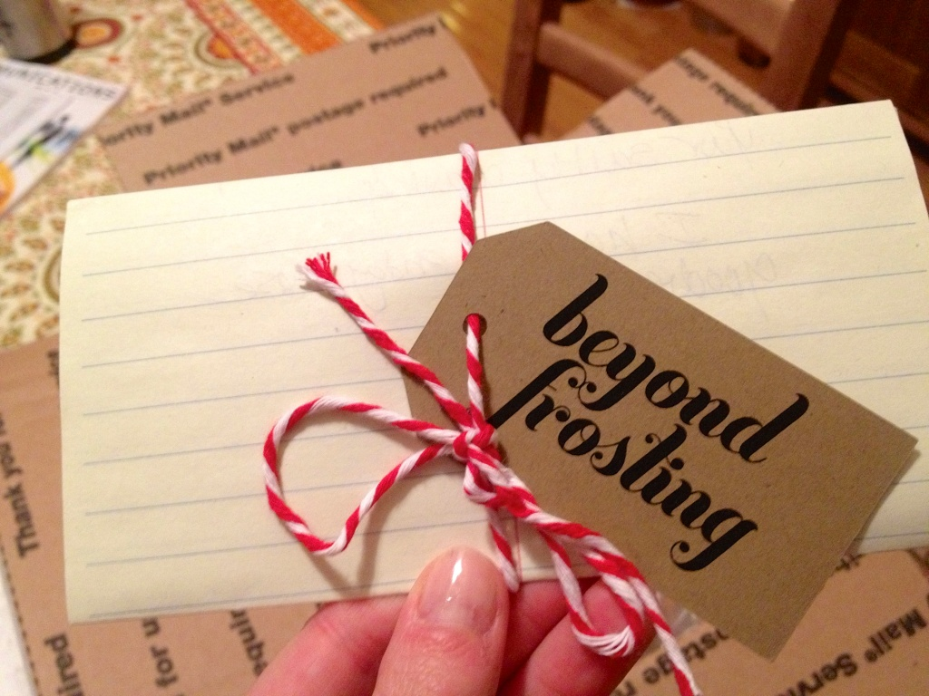 Cutest little note tag, isn't it?