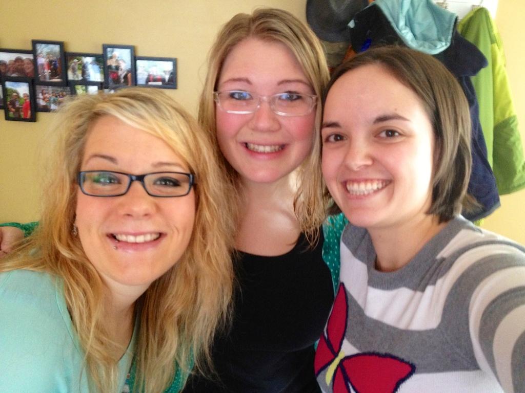 Helena, Inga and I
