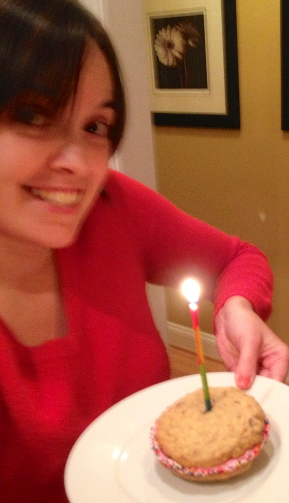 No birthday is complete without blowing a candle!