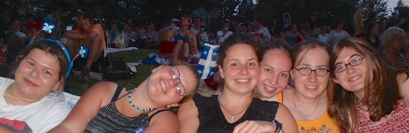 My first St-Jean without my parents! I had (still have) such a great group of friends!