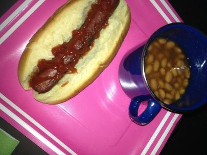 Hotdogs & Beans