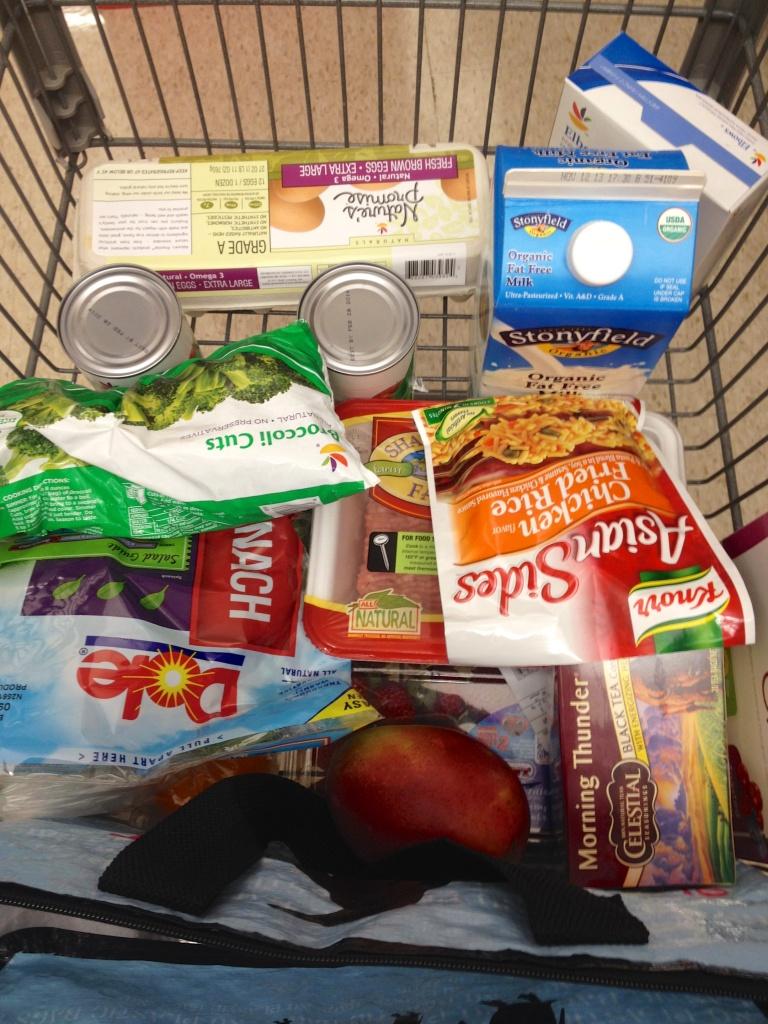 A look at my cart...