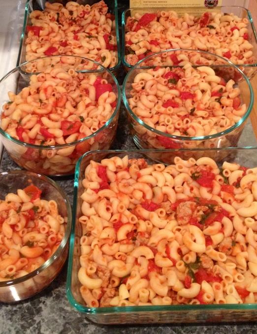 So much macaroni!