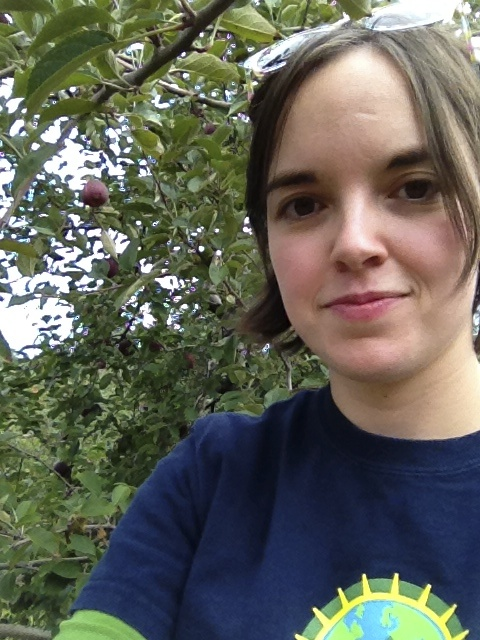 Apple-picking happiness