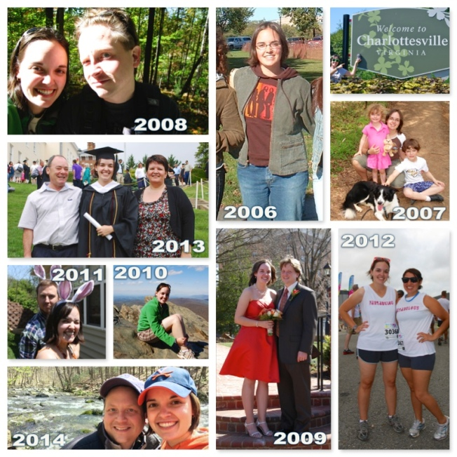 My last 9 years in Virginia. So many wonderful memories!