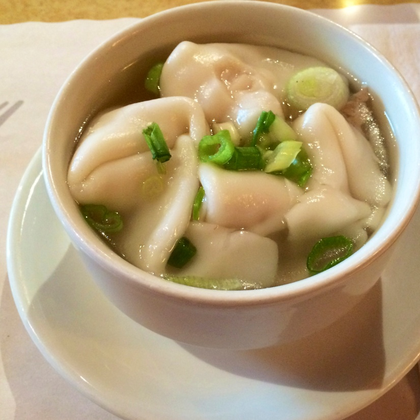 The wonton soup at Café Hong-Kong. A taste of childhood.