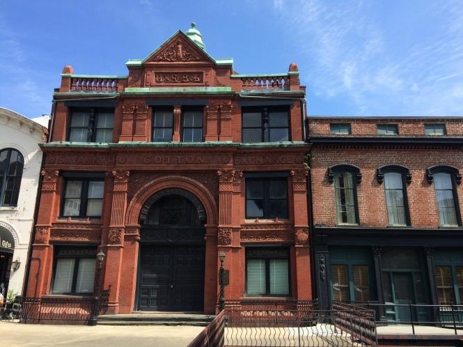 Beautiful Savannah building