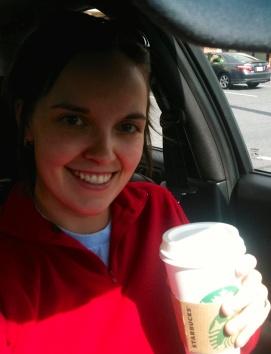 Sweater & pumpkin spice latte = great start of the weekend -)