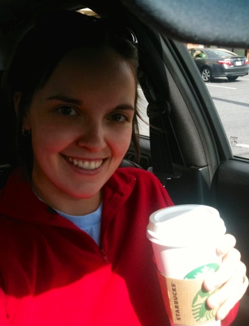 Sweater & pumpkin spice latte = great start of the weekend -)