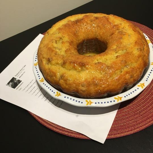 Thelma's Rum Cake