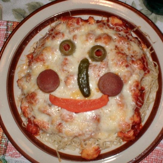Childhood memories associated to my mom's spaghetti.