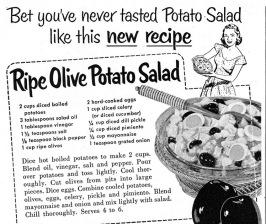 potato salad copy