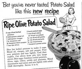 potato salad copy